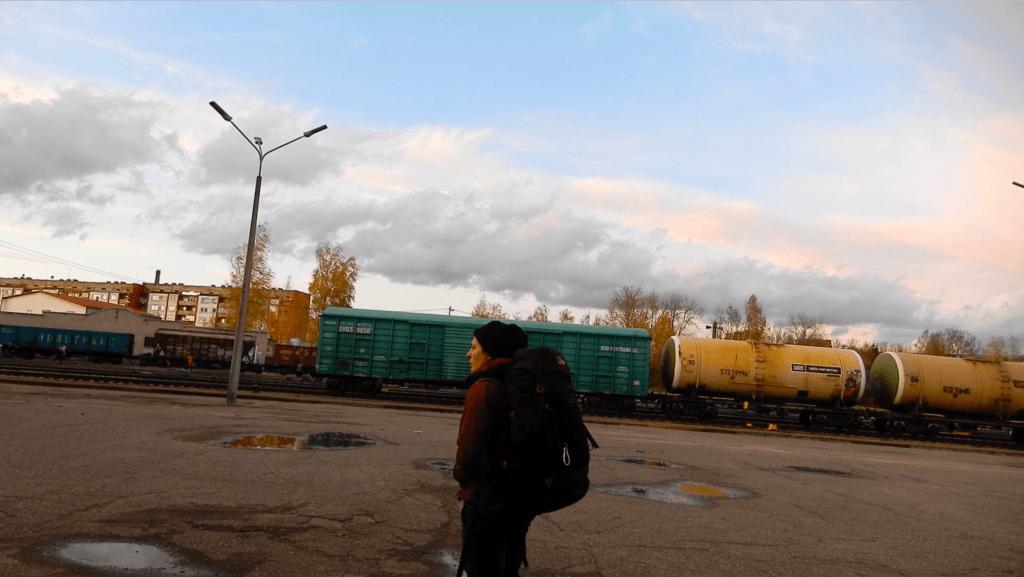 de letonia a rusia en tren