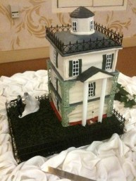 Disney Haunted Mansion wedding cake