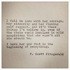 Famous Love Quotes F Scott Fitzgerald