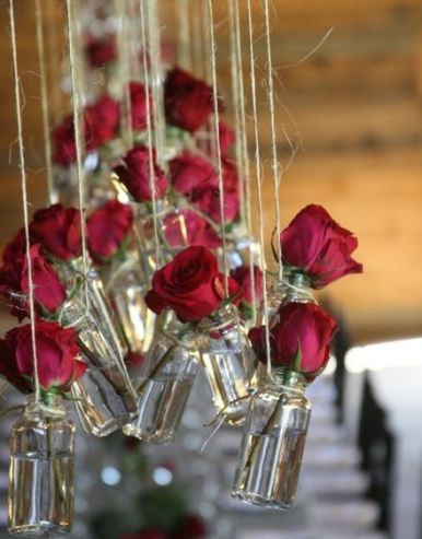 Valentines Wedding Inspiration Roses