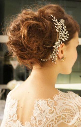 Romantic wedding hair looks irish wedding blog