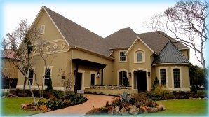 Toll Brothers Model Home at Alon Estates
