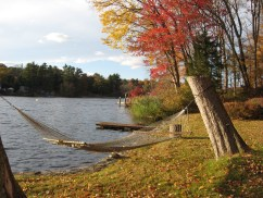Hammock in Fall (photo by Peggy Pryor)