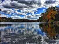 Dramatic HDR view from the dam (photo by Meghan Crystal)