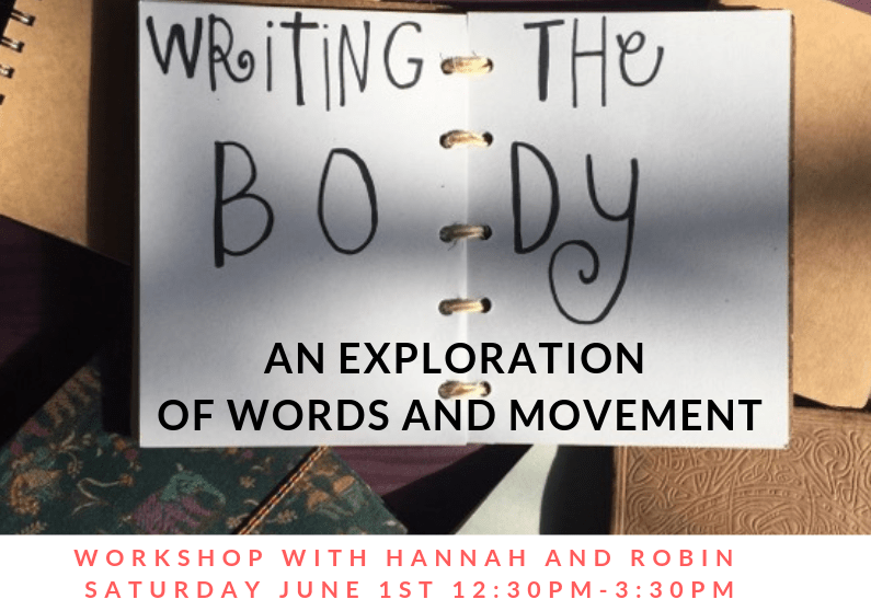 Writing The Body Workshop