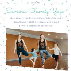 Summer Family Yoga - Little Movers