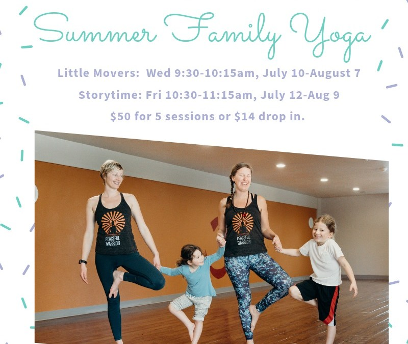 Summer Family Yoga – Little Movers