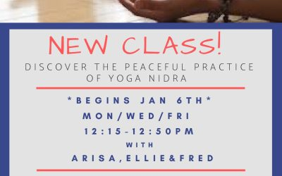 New Class Coming Jan 6th!