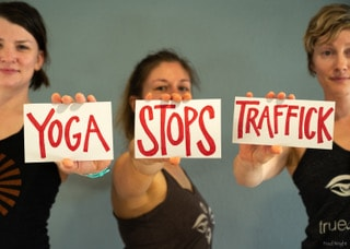 Yoga Stops Traffick – Facebook LIVE Event