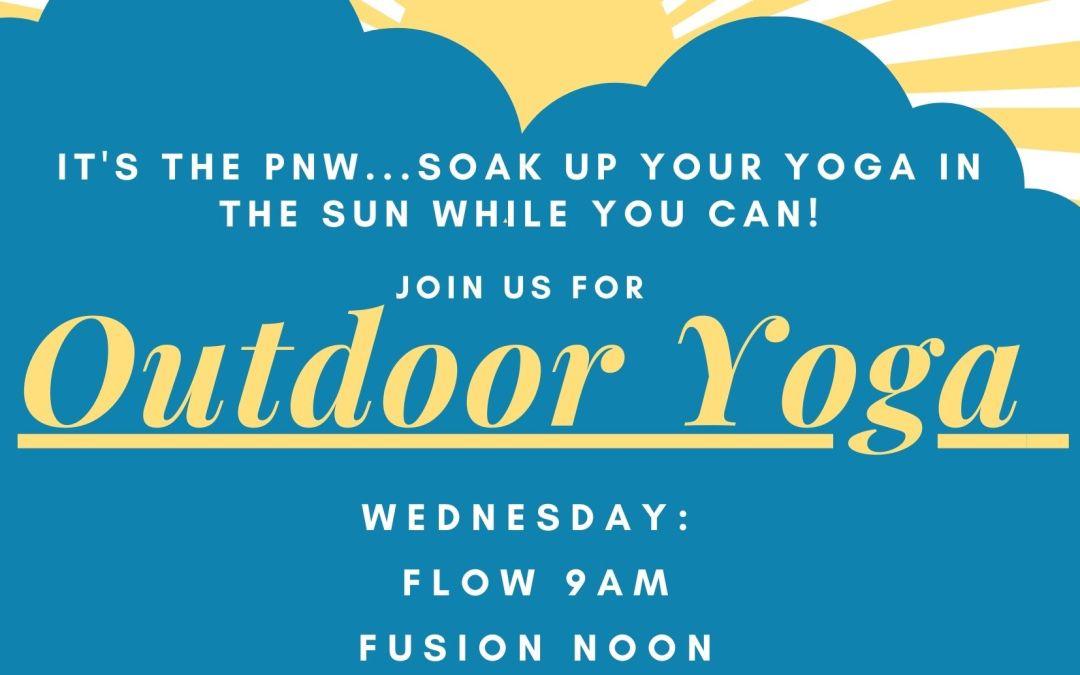 Wednesday Deck Yoga!