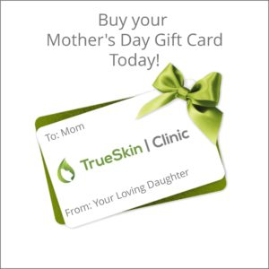 mother's day gift card spa, facial, dermaplaning