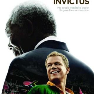 Invictus Movie Poster - Mandela + Damon