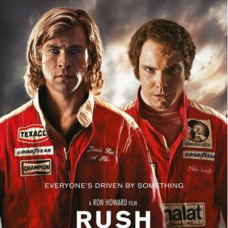 Rush Movie Poster - Lauda & Hunt