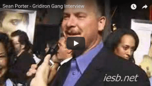 Gridiron Gang Sean Porter Interview