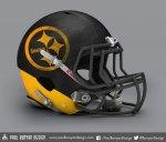 Fan Made NFL Logo - Pittsburg Steelers