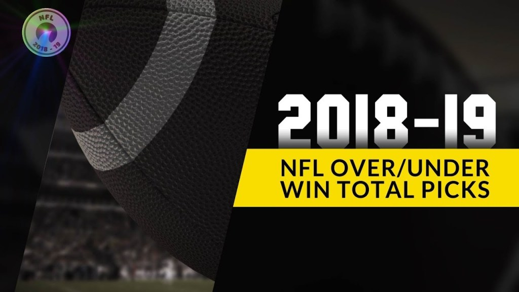 2018-2019 NFL Over/Under Contest