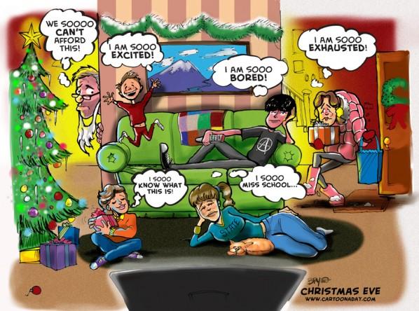 Holiday Stress - Family