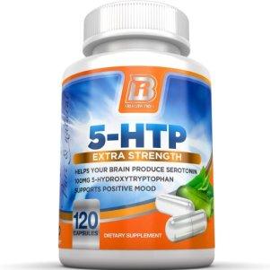 3. BRI Nutrition 5-HTP Veggie Capsules