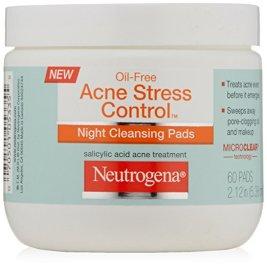 Neutrogena Acne Stress Control Night Cleansing Pads