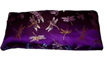 Flax Seed Eye Pillow with Lavender Buds