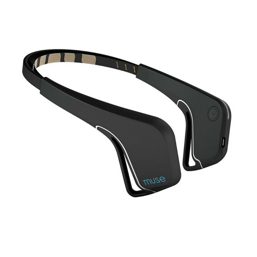 black Muse Brain Sensing Headband