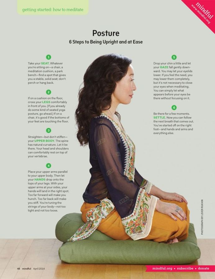 meditation cushion provides support