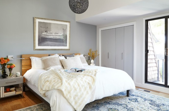calming soft gray room ideas