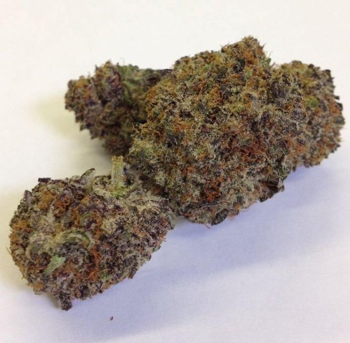 grape god strain for stress