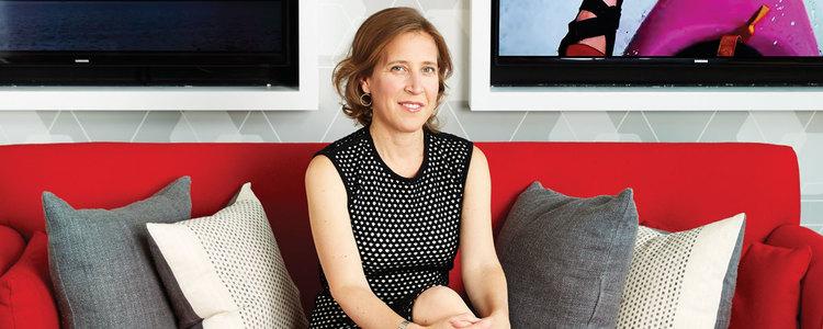 Susan Wojcicki on how to feel less stressed