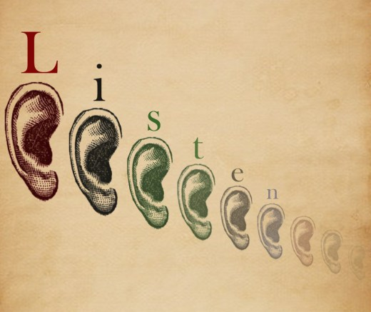 Listen and communicate-- image cc from Flickr by Ky
