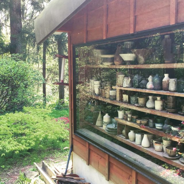 Pottery studio discovery in Yahiko Village-- photo by Lauren Shannon