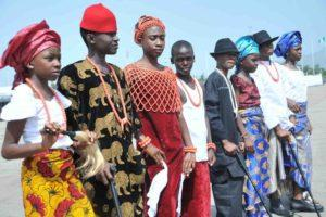 the Nigerian population by states - all major tribes