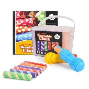 Washable Sidewalk Chalk Set