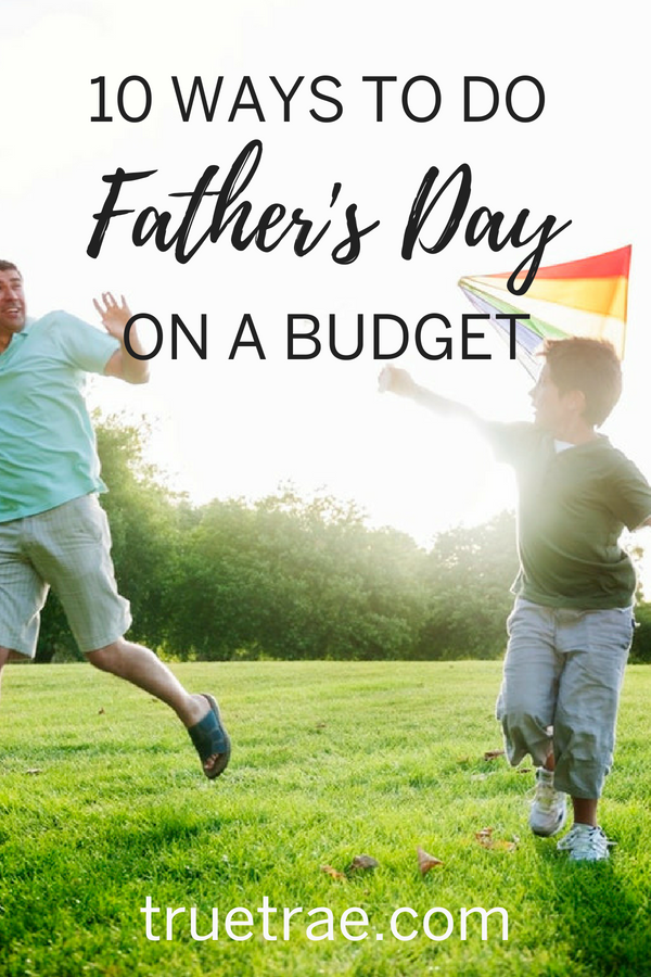 fathers day budget ideas