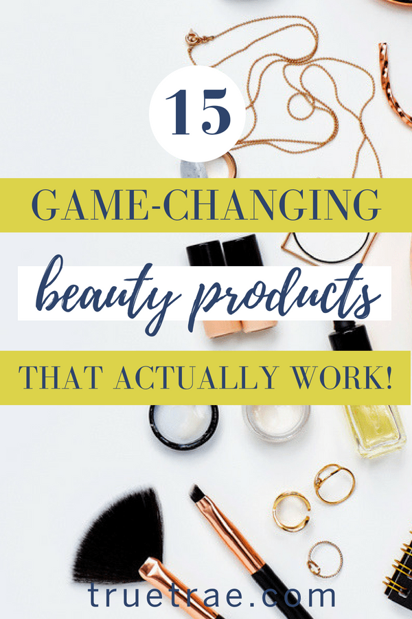 These are some of the best beauty products! From face serum that will make your skin look healthier than ever, to styling cream that controls frizz, these beauty products really work!