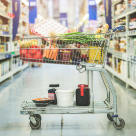 How to shop wholesale | Buying food in bulk is a smart shopping move – usually! Here are the best things to buy in bulk and the products not to buy bulk, plus how to save money at a wholesale club like Costco or Sam's Club!