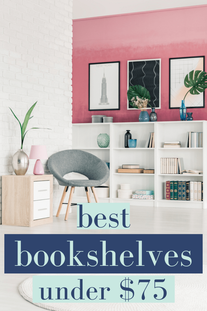 These are the best bookshelves on a budget. Amazon, Target and Home Depot all have shelving units you'll love to decorate. Bookshelf styling starts with great furniture! #bookshelves #homedecor #bestfurniture #bookshelfstyling #bestbudgetfurniture #amazonfinds #targetfinds #homedepot