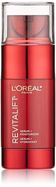 loreal paris revitalift serum and moisturizer