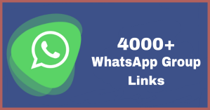 4000+ New whatsapp group links