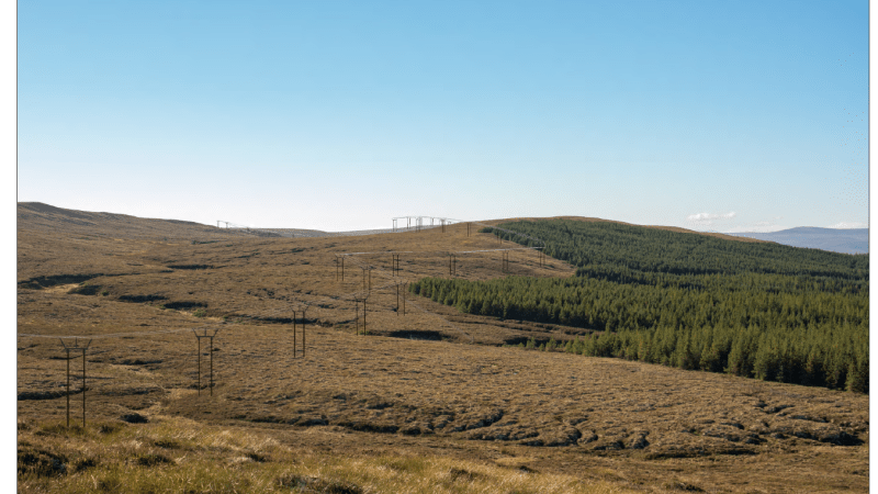 Tom Na Clach Windfarm Grid Connection Planning Application