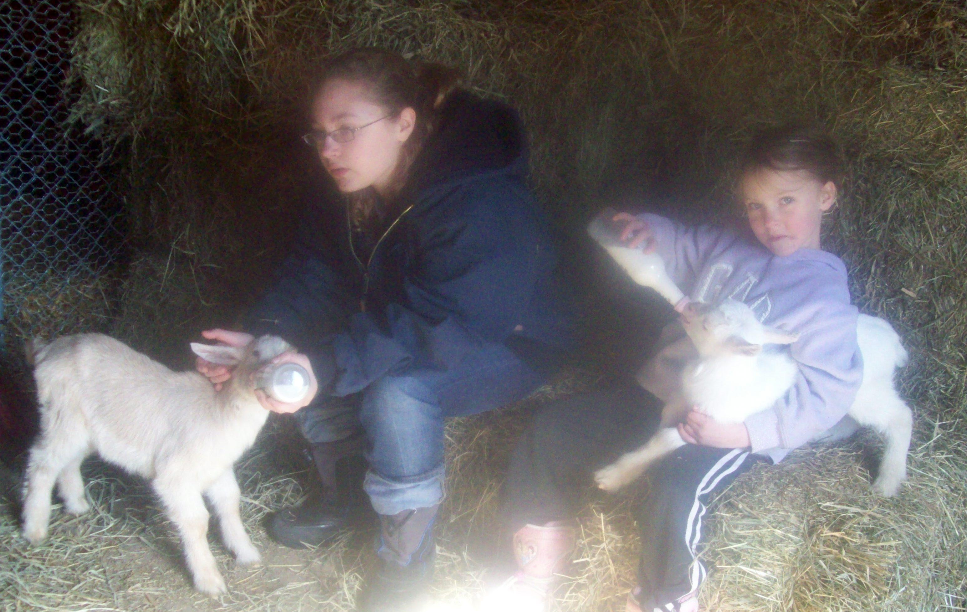 Ana with Lilac & Liz with Heidi