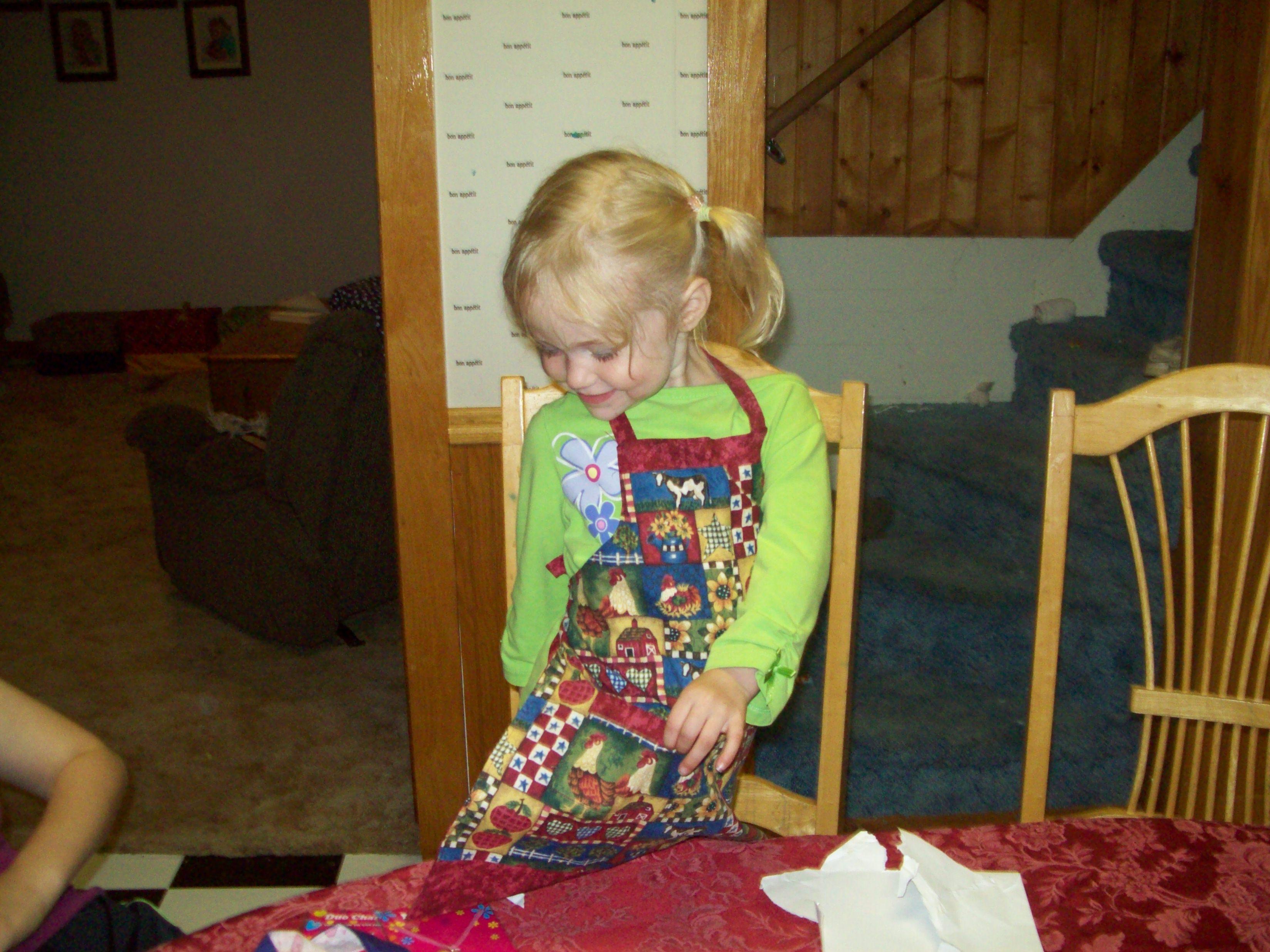 An apron like mama's!