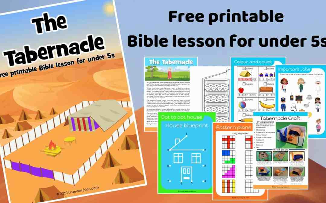 The Tabernacle – Free Bible lesson for under 5s