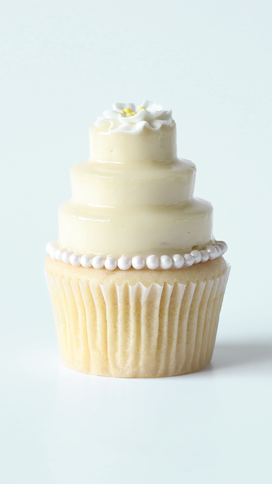Wedding Cake Cupcakes   Recipe   Tastemade