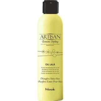 """Nook Artisan Oil Lala Modelling Fluid - Моделирующий флюид """"масло без масла""""с мягкой фиксацией для эластичного, натурального стайлинга"""