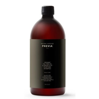 Previa TeaTreeOil&GreenClay Очищающий шампунь