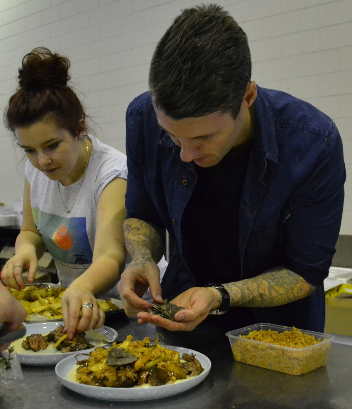 Ben Milbourne using Stantorpe Truffle and TDC Oils