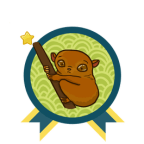yarc badge tarsier - Better Late Than Never // The Year of the Asian Reading Challenge 2019