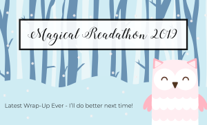 April/Magical Readathon Wrap-Up & June-July TBR Plan