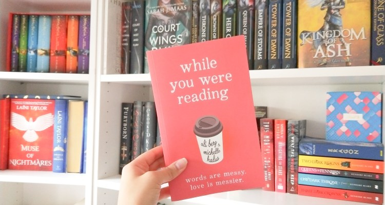 While You Were Reading   Blog Tour